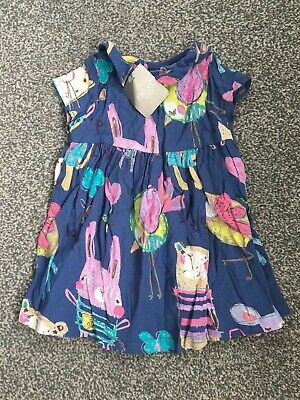 Bnwt New Next Baby Girls Dress Outfit Age Size 3-6 Months