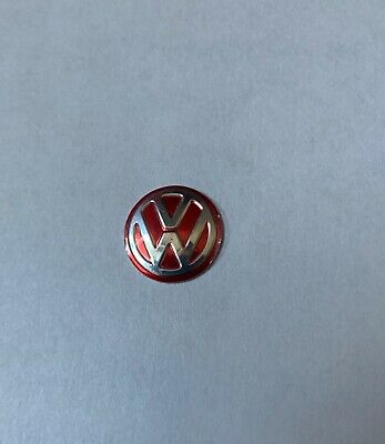 logo sticker Autocollant VW 14mm ROUGE télécommande clé Golf 4 5 Passat Polo..