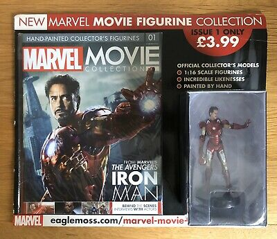 MARVEL Movie Collection Issue 1 IRON MAN 2016 Eaglemoss NEW