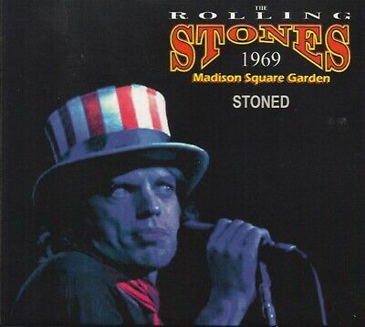The Rolling Stones. 1969. Stoned. Madison Square Garden. Digipack Cd.