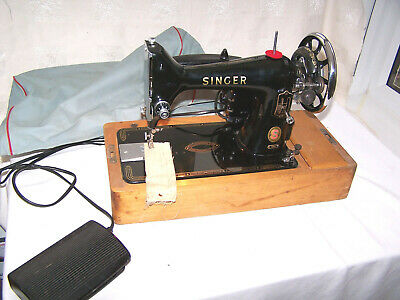 Vintage 1961 Singer Sewing Machine Model 99K Electric  Excellent Tested