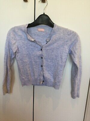 Next pale blue girls cardigan age 9-10. Very good condition.