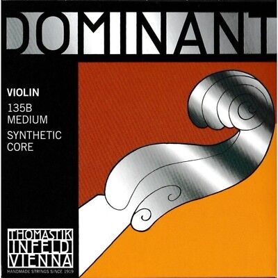 Thomastik Dominant Set Strings for Violin 4/4 Infeld 135B Synthetic Core