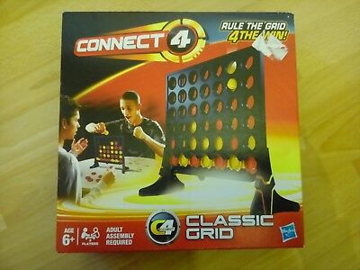 Hasbro Connect 4 Classic Grid Game 100% Complete