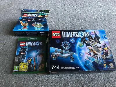 Lego Dimensions Starter Pack 7-14 Xbox One with Disc & Instructions