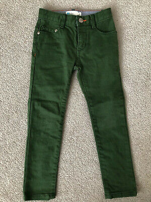 Boden Boys Coloured Skinny Jeans - Broccoli Green (age 4)