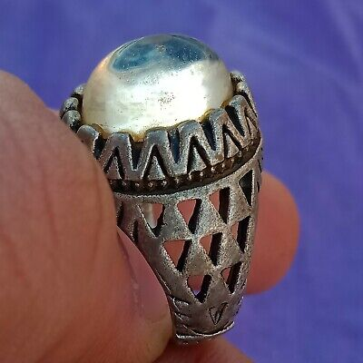 Ancient Rare Bronze Ring Vintage Antique ROMAN Legionary Artifact