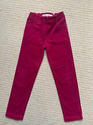 Girl's Pink Corduroy Jeans by Crew age 8-9 years Excellent Condition