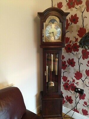 GRANDMOTHER LONGCASE CLOCK - Used