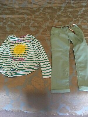 Next Age 11 Girls Top & Chinos
