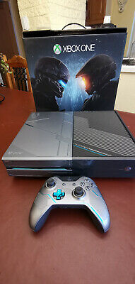 XBOX ONE Games Console LIMITED EDITION HALO 5 1TB Excellent condition. Boxed