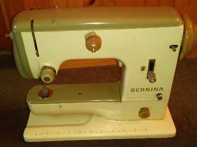 Vintage Bernina 600 ZigZag Sewing Machine Instruction manual and all accessories