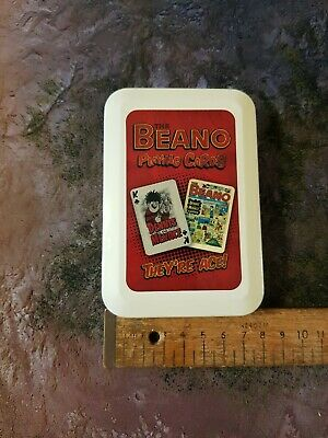 Beano Playing Cards In Tin