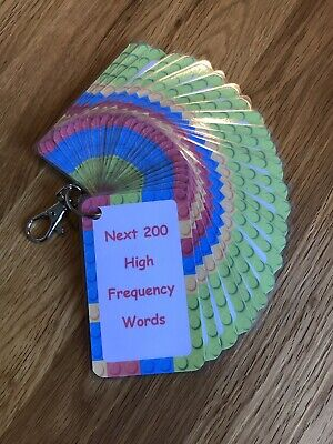 NEXT 200 High Frequency Words - Home School Learning Resource - KS1/KS2