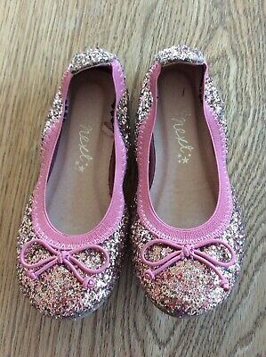 Next Girls Party Shoes Size 9 Infant