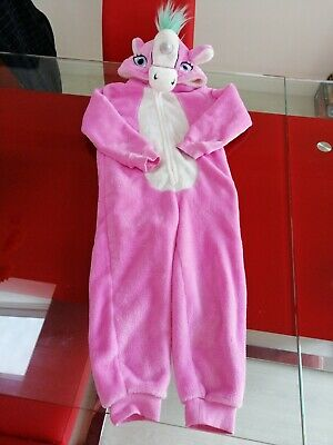 George Pink Unicorn All In One Play Suit Age 5 / 6 - Not Gerber