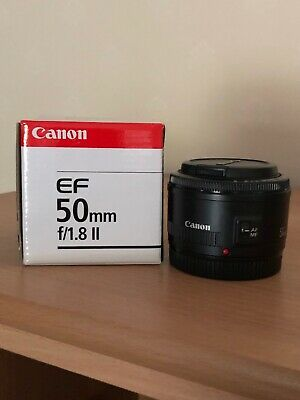 Canon EF 50 mm F/1.8 EF STM for Canon - Black