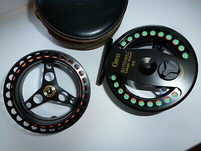 2 x Ron Thompson Flylite #5//6 Large Arbour Trout Fly Fishing Reel wide arbor
