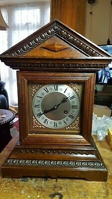 antique ting tang bracket clock