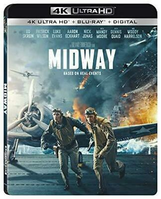 Midway 4K UHD Blu-ray Free Shipping PreOrder release date 2/18/20
