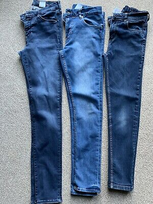 Boys Bundle Jeans Age 12-13 - Next - H&m And Denim