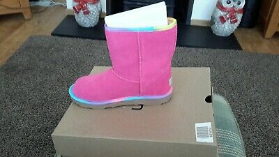 girls pink ugg boots size 3 new