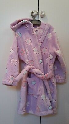 Girls M&S dressing gown age 3-4
