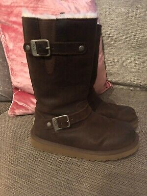 Girls Brown Ugg Boots Size13