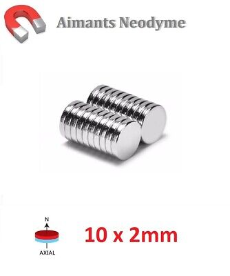 Lot 50 Aimants Puissant Neodyme N35 5 X 1 mm : Photo Fimo Scrapbooking Magnet