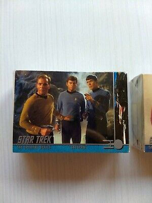 "New Star Trek The Original Series ""Catspaw"" Commemorative Trading Cards Full Set"
