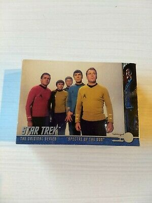 "Star Trek The Original Series ""Spectre of the Sun"" Commemorative Trading Cards"