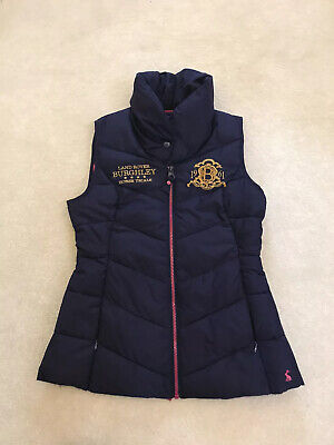 Joules Land Rover Burghley Horse Trials Gilet / Body Warmer - Navy - Size 10