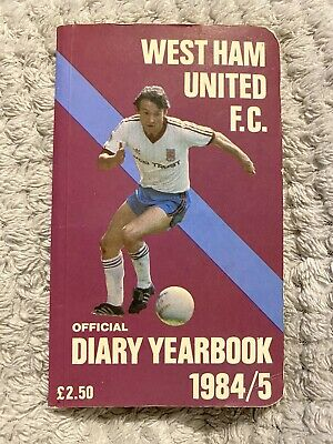 West Ham United Official Diary/yearbook 1984/85