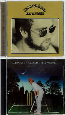 Elton John, 2 CDs, Honky Chateau, Out-Of-Print + Greatest Hits, Cost $33