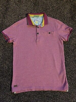 Boys Ted Baker Polo Top Age 8-9 Years Old