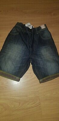 Boys Demin Shorts Age 12 From Next Bnwt