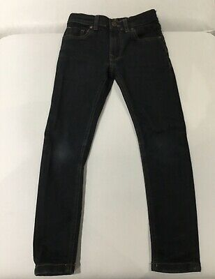 Boys Next Skinny Blue/black Jeans Age 6 Years