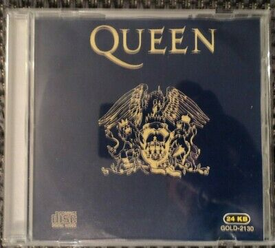 RARE Queen CD Greatest Hits 2 II Mercury May 24 KB GOLD 2130 Misspress? Promo?