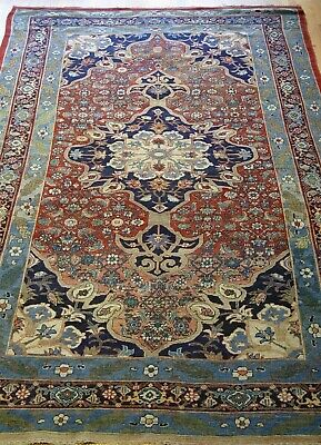 "Authentic Antique Bijarr Hand Knotted 100% All Wool Oriental Rug  7'2"" x 12'5"""