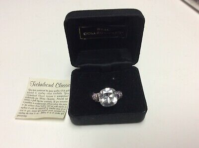 The Real Collectible by Adrienne sterling silver 925 ring with stones,      J757