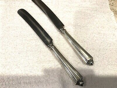 """Plymouth by Gorham Sterling Silver Regular Knife Blunt 8 1/4"""" Set of 2"""