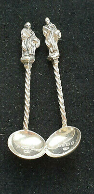Bham 1878 Sterling Silver Salt Ladles / Spoons by Hilliard & Thomason No Reserve