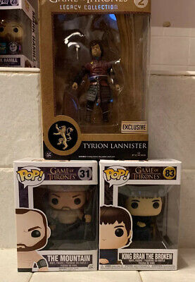 Funko POP Game of Thrones The Mountain #31 Vaulted - GOT LOT - Legacy Exclusive