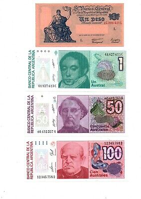 World Banknotes-Argentina