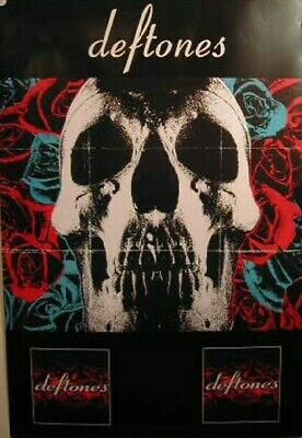 #6175    RC14 B ALL 4 POSED POSTER : MUSIC: DEFTONES FREE SHIPPING