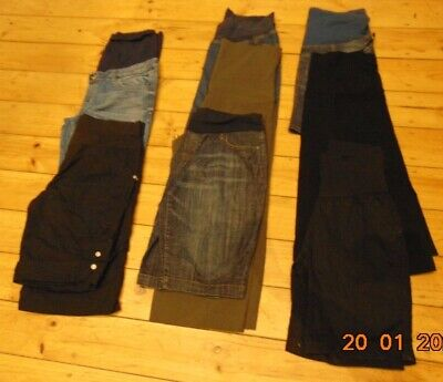 9 Maternity Skirts Shorts 3/4 Trousers Ninth Moon Pea In A Pod Bub2Be Size 14