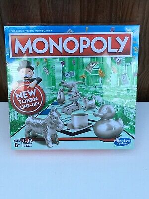 Hasbro Classic Monopoly Board Game (C1009)Brand New & Sealed.