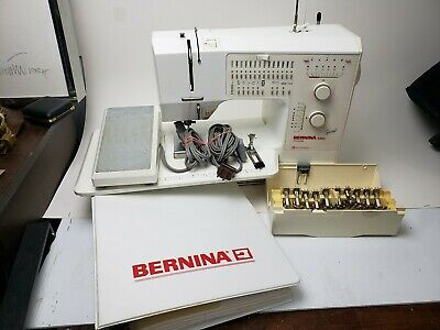 Bernina 1080 Sewing machine ,Extension table Bobbin and Eleven Foot and Workbook