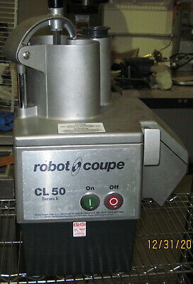 Robot Coupe CL50 Continuous Feed Food Processor - 1 1/2 hp GREAT WORKING ORDER