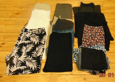 22 Maternity Clothes Job Lot Trousers Jeans Pants Blouses Tops Size 20 22 24 26